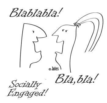 illustration jules dorval média sociaux