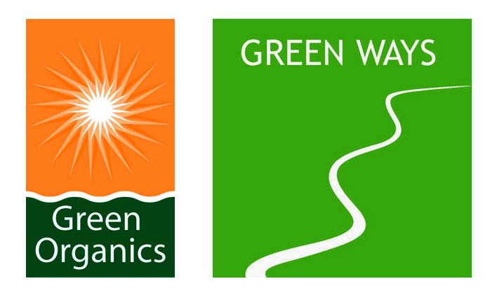 green organics logo design jules dorval