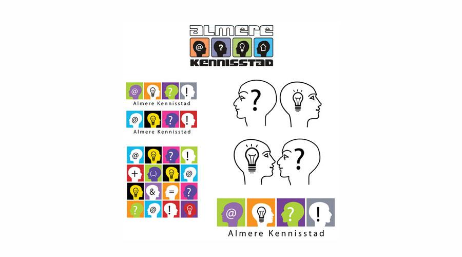 kennisstad almere : logo design jules dorval
