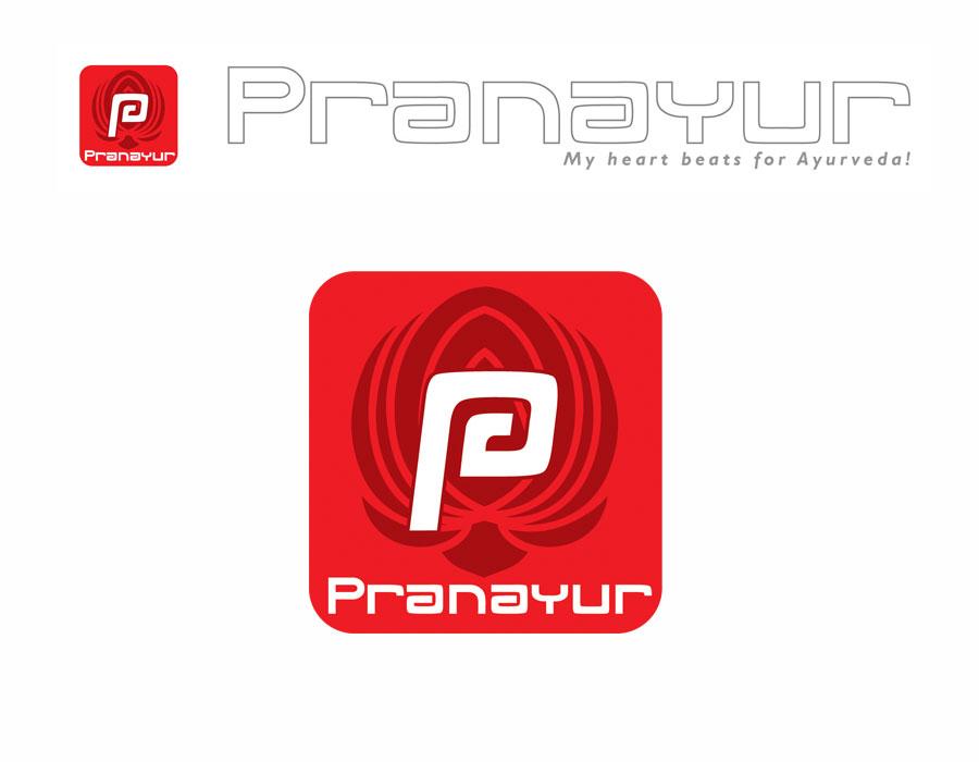 pranayur logo design jules dorval