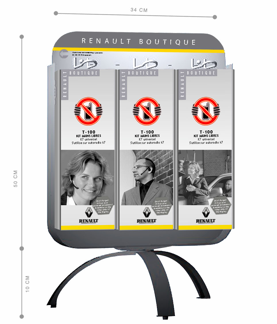 display package renault jules dorval