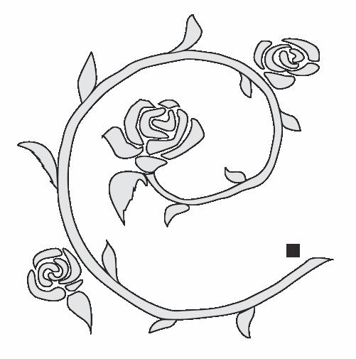 illustration des roses jules dorval