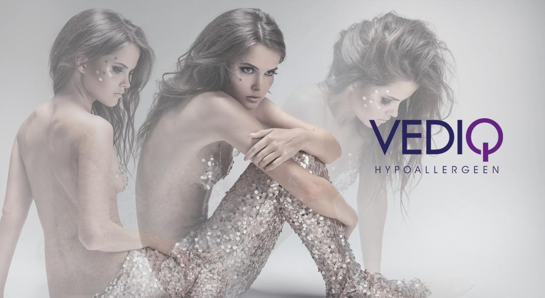 vediq hypoalergeen cosmetics - design jules dorval