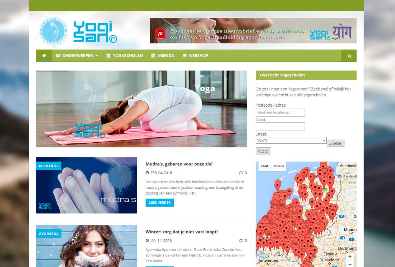 yogisan magazine site : jules dorval