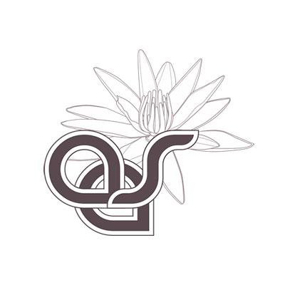 Accadémie d'études Ayurvédiques, logo design Jules Dorval