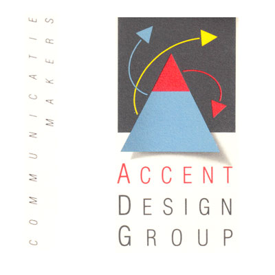 Accent Design Group, bureau de communication, logo design Jules Dorval