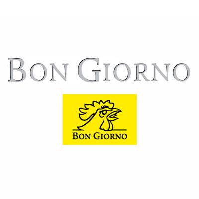 BonGiorno sous-vêtements, logo design Jules Dorval