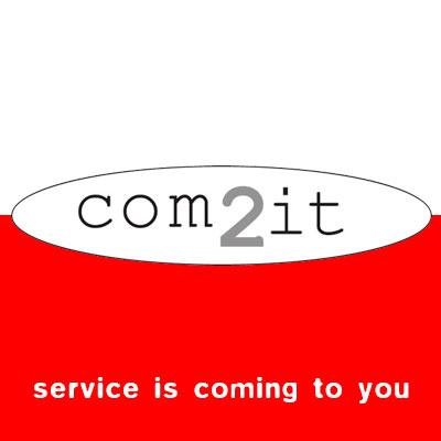 com2it, service en it services, logo design Jules Dorval