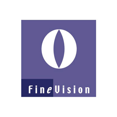 Fine Vision, gestion des logiciels comptables, logo design Jules Dorval
