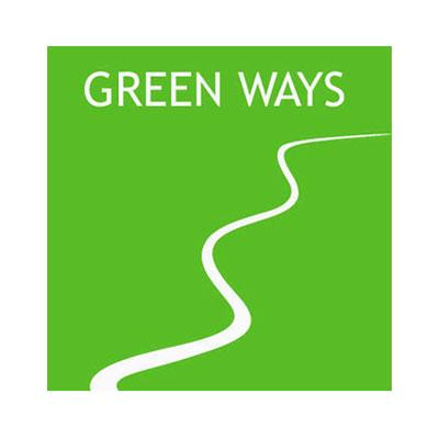 Green Ways, agriculture Bio, logo design Jules Dorval