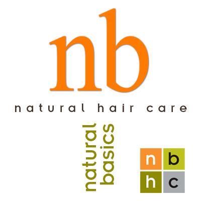 Natural Basics, produits coiffeur professionnels, logo design Jules Dorval