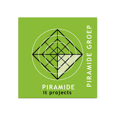 Piramide projects, logo design Jules Dorval