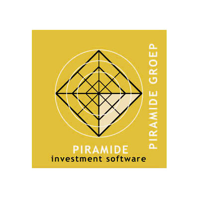 Piramide software finance et investisement, logo design Jules Dorval, nouveau nom Idella