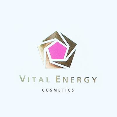vital energie cosmetics, produits vibrés, logo et emballage design Jules Dorval