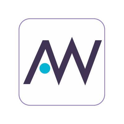 Logo Ayurwelness, logo design Jules Dorval