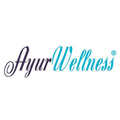 Ayurwellness, bien être ayurvédique, logo design Jules Dorval