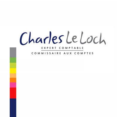 Charles le Loch, commissaire aux comptes, logo design Jules Dorval