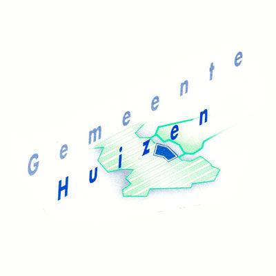 Commune de Huizen Noord-Holland, 40 mille habitants, logo design Jules Dorval