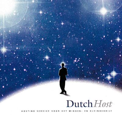 Dutch Host, hebergeurs du web, logo design Jules Dorval