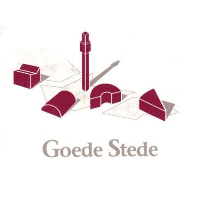 Goede Stede, coopérative d'immobilier et location, logo design Jules Dorval
