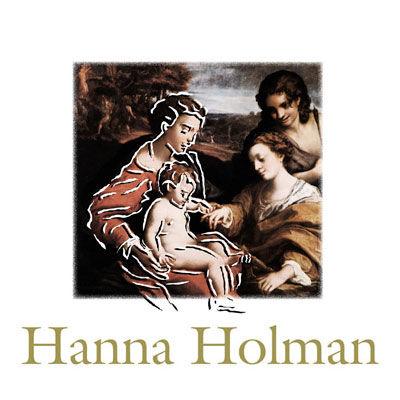 Crèche Hanna Holman, logo design Jules Dorval