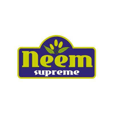Neem supreme, produits Ayurvédiques à base de Neem, logo design Jules Dorval