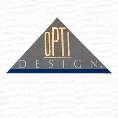 Opti Design dispays pour opticiens, logo design Jules Dorval