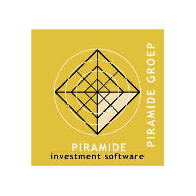 Piramide software finance et investisement, logo design Jules Dorval, nouveau nom Idella