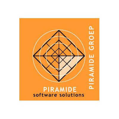 Piramide sowtware, logo design Jules Dorval